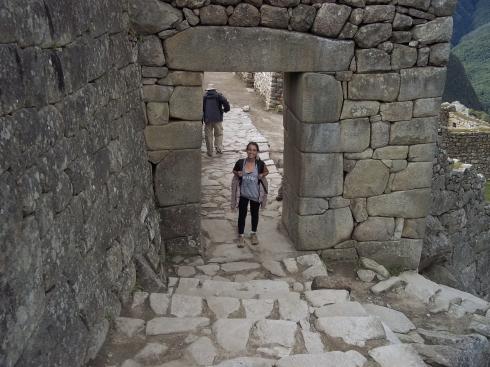 O portão principal da cidade sagrada. Apesar de entrarmos pela lateral da cidade, esta era a entrada principal.